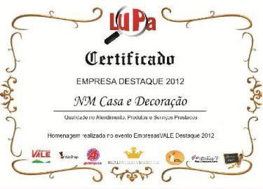 Certificado NM Design